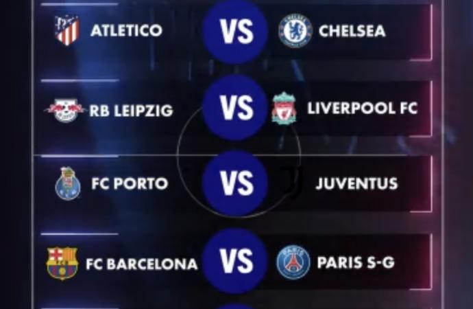 Ligue des champions : le calendrier des 8e de finale connu