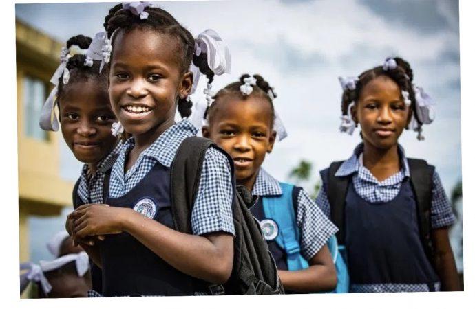 Année scolaire 2020-2021 : des écoliers haïtiens bénéficient du soutien du gouvernement américain
