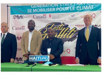 Culture : Lancement de la 5e édition du festival graffiti
