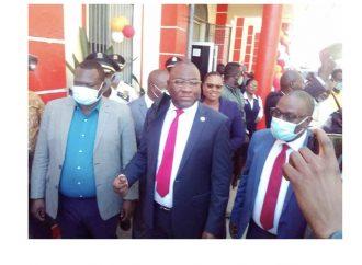 Le directeur général de l'OAVCT a inauguré un guichet chauffeur au Cap-Haïtien