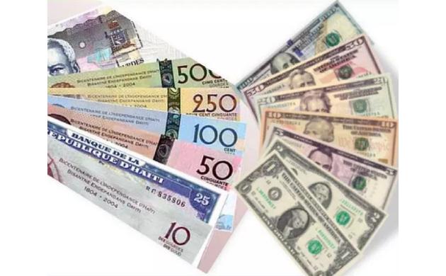 BRH-Taux de référence : 71,95 gourdes pour un dollar US