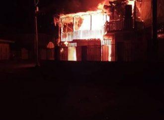 Jacmel: incendie à l'hôtel Mazmotte