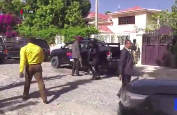 Belle-Ville : Eudes Lajoie et ses gardes du corps délogés dans une résidence privée par le ministre de la justice