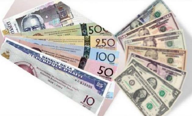 BRH-Taux de référence : 72,34 gourdes pour un dollar US
