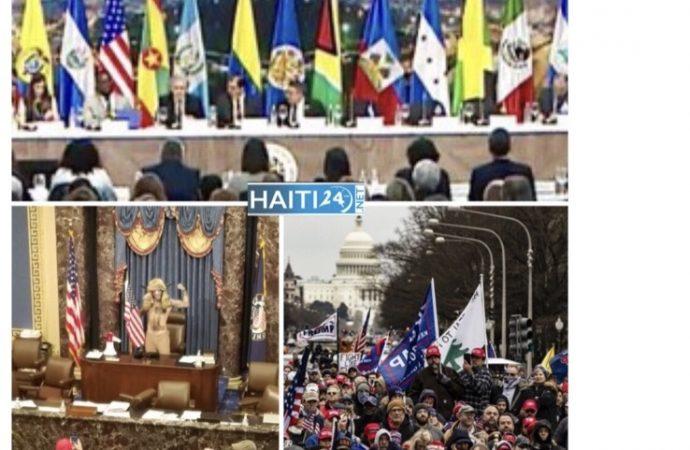 Tension à Washington : L'OEA condamne l'attaque perpétrée contre le Sénat