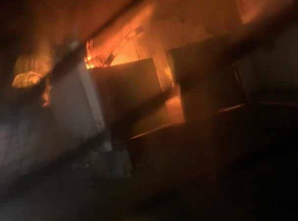 Incendie à l'hôtel Odivin aux Gonaïves