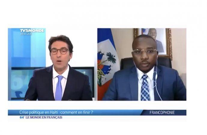 « Jovenel Moïse partira le 7 février 2022 en transférant le pouvoir à un autre président élu », dixit Claude Joseph