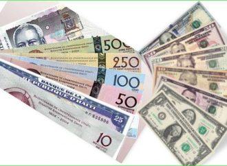 Taux de référence : la BRH affiche 82,04 gourdes pour un dollar US