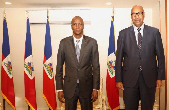 Crise politique : Jovenel Moïse rencontre une délégation de l'OIF