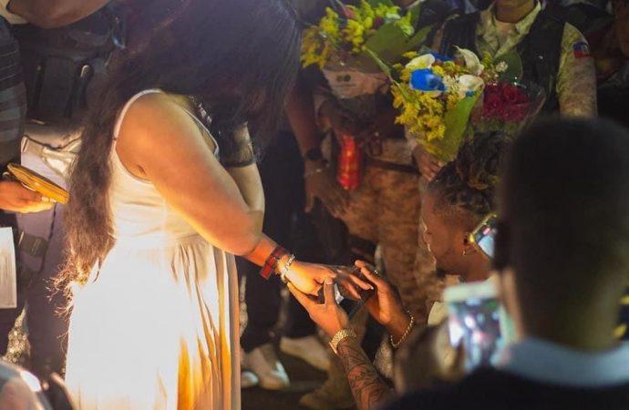 People : Dperfect demande Blondedy Ferdinand en mariage