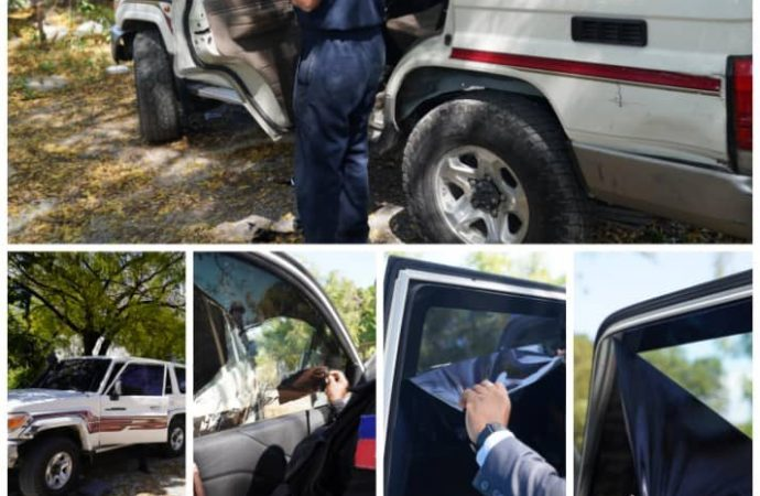 Nouvelles mesures de sécurité : Joseph Jouthe prêche par l'exemple
