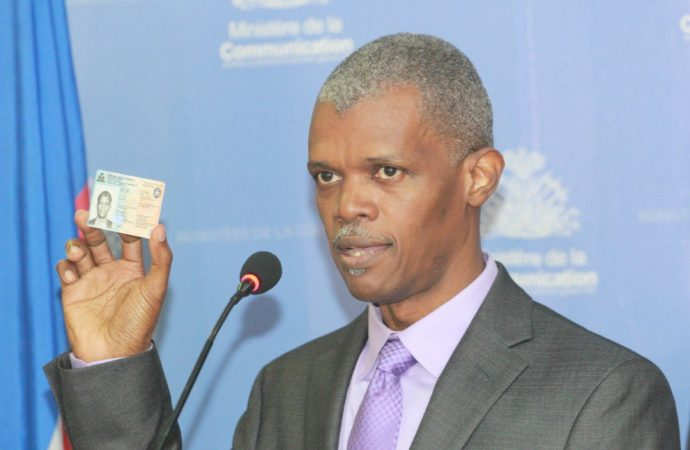 Élections 2021 : Mathias Pierre promet un processus fiable avec la « carte Dermalog »