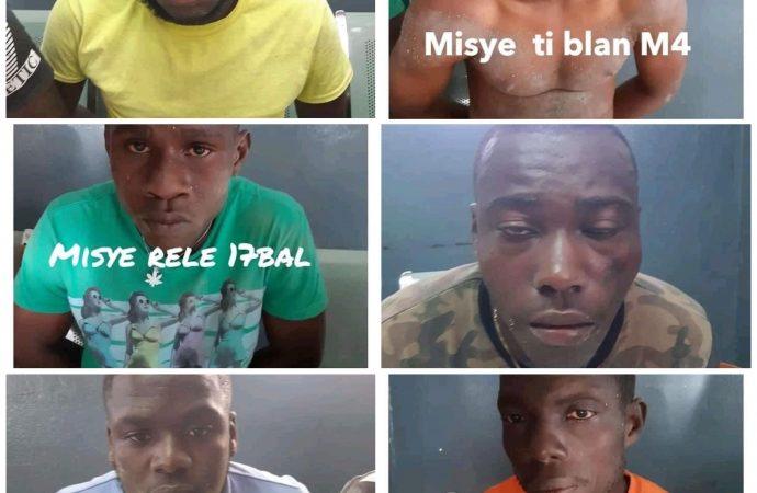 Opération policière à Tabarre : Plusieurs présumés bandits arrêtés