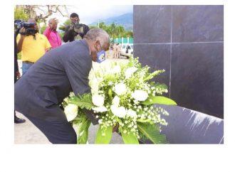 7 avril : Pradel Henriquez salue la mémoire de Toussaint Louverture